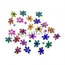32 flower rubber eva 5 cms.