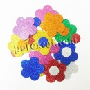 24 flower rubber eva 5 cms.