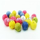 balls of pulp colors 1.8 cms.