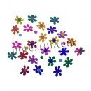 32 flower rubber eva 5 cms.