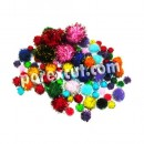 Assorted Pom Pon colors