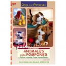 Animales con pompones y fieltro