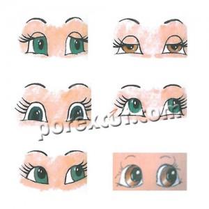 Patrones Para Ojos Porexcut