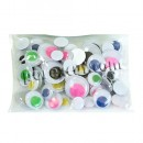 Adhesive eyes mobile colors