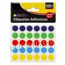 600 Round stickers
