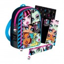 Set large backpack accessory Monster High