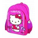 Mochila Grande 3D Hello Kitty 40x31x16cm