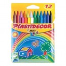 Waxes plastidecor, 12 units