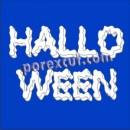 Texto Halloween 20cm. de altura