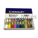 Waxes Manley 10 units box.
