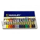 Ceras Manley 15 unidades box.