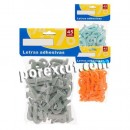 Adhesive letters, 45 units