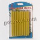 10 black glue sticks