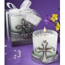 Cross communion candle