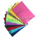 Conjunto de 10 folhas de feltro em várias cores