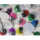 Adhesive eyes mobile colors tab