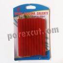 6 red glue sticks