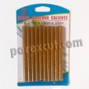 10 yellow glue sticks